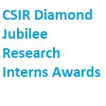 CSIR Diamond Jubilee Research Interns Awards