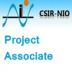 CSIR – National Institute of Oceanography Project Associate