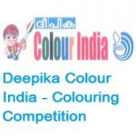 Deepika Colour India - Colouring Competition