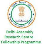 Delhi Assembly Research Centre Fellowship Programme