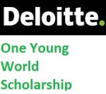 Deloitte One Young World Scholarship 2019