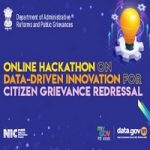 Department of Administrative Reforms and Public Grievances Hackathon