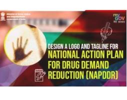 Design a Logo and Tagline for National Action Plan for Drug Demand Reduction (NAPDDR)