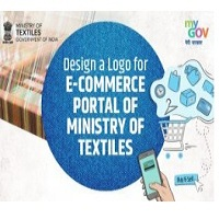 Design a Logo for e-commerce Portal of Ministry of Textiles