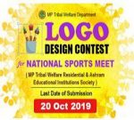 Design a Logo for National Sports Meet reflecting the ethos of Tribal and Sports