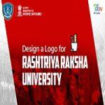 Design a Logo for RASHTRIYA RAKSHA UNIVERSITY