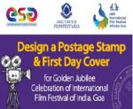 Design a Postage Stamp & First Day Cover for Golden Jubilee Celebration of IFFI, Goa