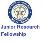 DRDO-NSTL Junior Research Fellowship