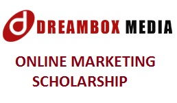 DREAMBOX MEDIA ONLINE MARKETING SCHOLARSHIP