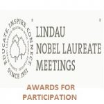 DST-DFG AWARDS FOR PARTICIPATION IN THE MEETING OF NOBEL LAUREATES & STUDENTS