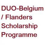 DUO-Belgium-Flanders Scholarship Programme