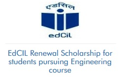 EdCIL Renewal Scholarship For Students Pursuing Engineering Course