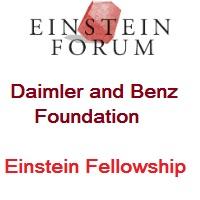 Einstein Fellowship By Einstein Forum and the Daimler and Benz Foundation