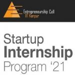 Entrepreneurship Cell IIT Kanpur Startup Internship Program 2021