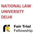 Fair Trial Fellowship Programme