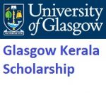 Glasgow Kerala Scholarship Offered By University of Glasgow