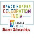 Grace Hopper Celebration India (GHCI) Student Scholarships