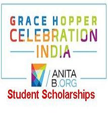 Grace Hopper Celebration India (GHCI) Student Scholarships
