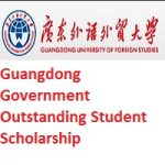 Guangdong Government Outstanding Student Scholarship 2019
