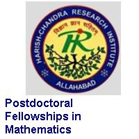 Harish-Chandra Research Institute (HRI) Postdoctoral Fellowships in Mathematics