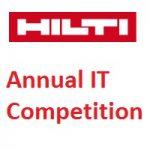 Hilti Annual IT Competition