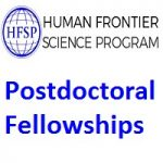Human Frontier Science Program Postdoctoral Fellowships
