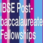 IBSE Post-baccalaureate Fellowships
