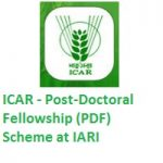 ICAR - Post-Doctoral Fellowship (PDF) Scheme
