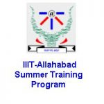 IIIT Allahabad Summer Training Program On VLSI Design