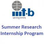 IIIT-B Bangalore Summer Research Internship Program