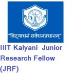 IIIT Kalyani Junior Research Fellow (JRF)