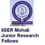 IISER Mohali Junior Research Fellows