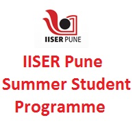 IISER Pune Summer Internship Programme 2019