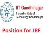 IIT Gandhinagar JRF