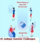 IIT Jodhpur Summer Challenges