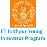 IIT Jodhpur Young Innovator Program