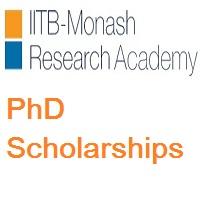 IITB-Monash Research Academy PhD Scholarships
