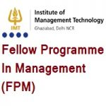 IMT Ghaziabad - The Fellow Programme in Management FPM