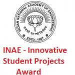 INAE - Innovative Student Projects Award