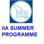 Indian Institute of Astrophysics (IIA) SUMMER PROGRAMME