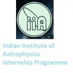 Indian Institute of Astrophysics Internship Programme