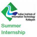 Indian Institute of Information Technology Kottayam Summer Internship