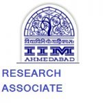 Indian Institute of Management Ahmedabad RESEARCH ASSOCIATE