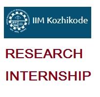 Indian Institute of Management Kozhikode Research Internship