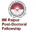 Indian Institute of Management Raipur Post-Doctoral Fellows