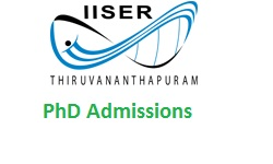 Indian Institute of Science Education and Research Thiruvananthapuram Ph.D Admission