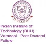 Indian Institute of Technology (BHU) Varanasi Post Doctoral Fellow