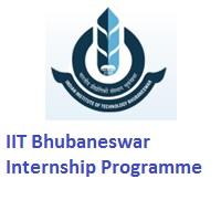 Indian Institute of Technology Bhubaneswar Internship Programme