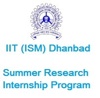 INDIAN INSTITUTE OF TECHNOLOGY (ISM) DHANBAD - SRIP