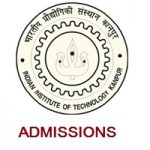 INDIAN INSTITUTE OF TECHNOLOGY KANPUR Admission Notice 2019